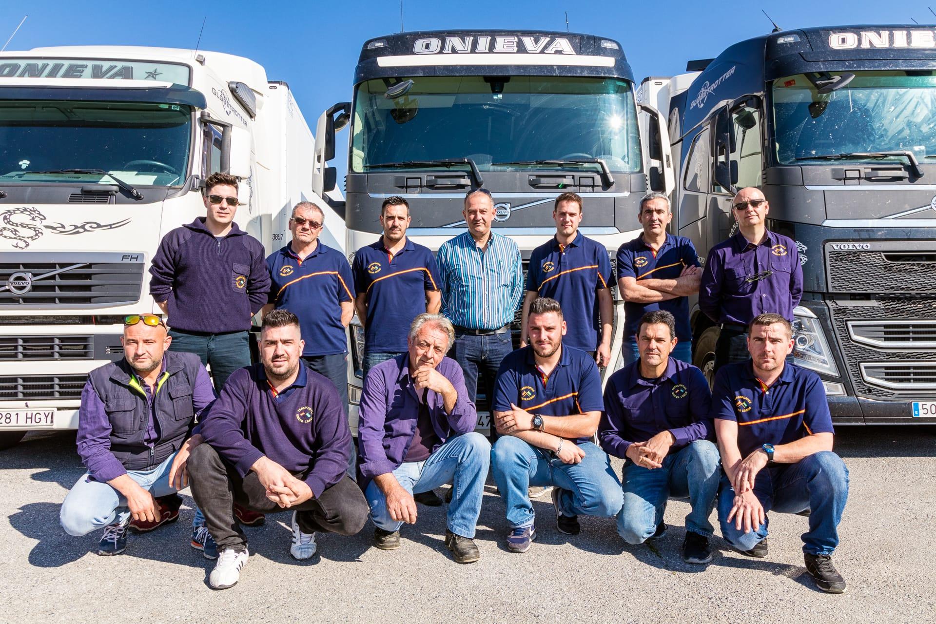 Plantilla Transportes Onieva Cargo
